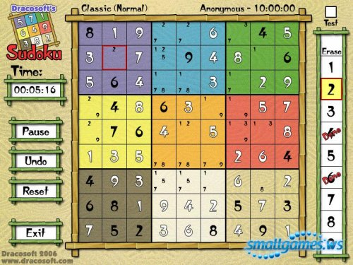 Sudoku(by Dracosoft)