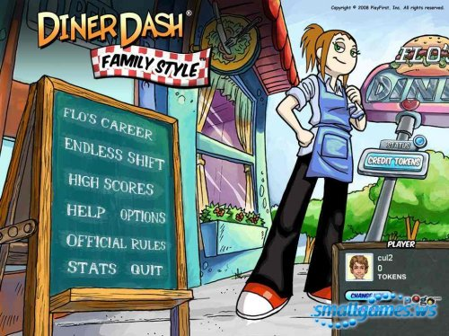 Diner Dash Family Style