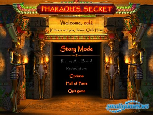 Pharaohs Secret