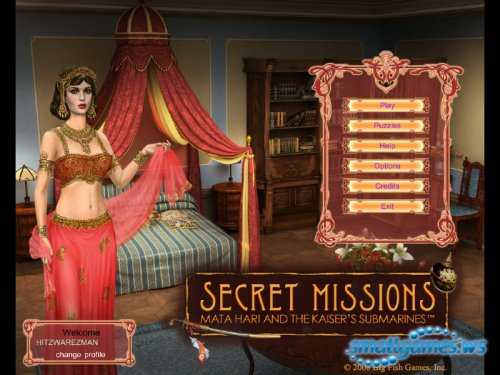 Secret Missions - Mata Hari and the Kaisers Submarines