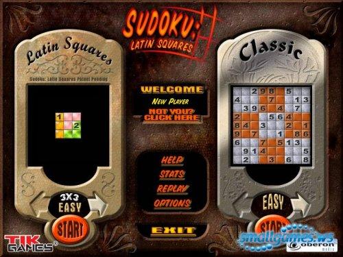 Sudoku Latin Squares Gold