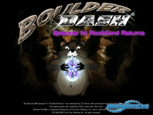 Boulder Dash  Episode IV: Rockford Returns