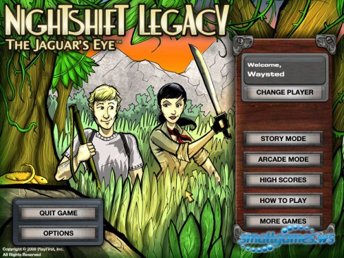 Nightshift Legacy The Jaguar's Eye
