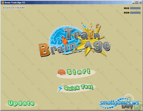 Brain Train Age 3.9