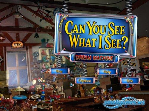 Can you see what I see? 2: Dream Machine