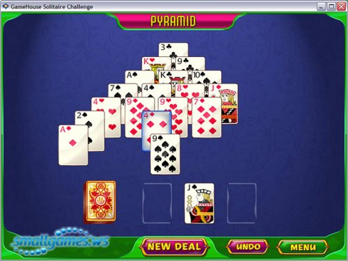 Gamehouse Solitaire Challenge